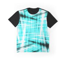 Black and blue streaks Graphic T-Shirt