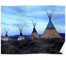 Taos spirit Poster