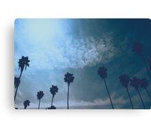LA Palms Canvas Print