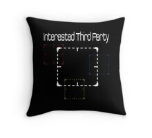 Person of Interest - Interested Third Party  Throw Pillow