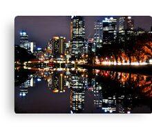 Melbourne Cityscape 2015 Canvas Print