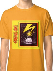Brains Capitol Lightning Classic T-Shirt