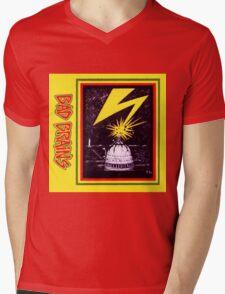 Brains Capitol Lightning Mens V-Neck T-Shirt