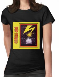 Brains Capitol Lightning Womens Fitted T-Shirt