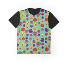 Moody Veggies Graphic T-Shirt