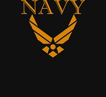 US Navy with Air Force Logo Unisex T-Shirt