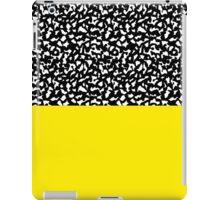 Memphis Black and Yellow 80s iPad Case/Skin
