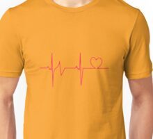 Heart beat Unisex T-Shirt