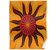 Segmented Sun #1 Poster