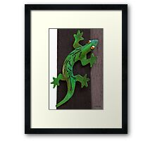 Oh No! That Cat is Still There! Framed Print