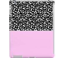 Memphis Black & Pink 80s iPad Case/Skin