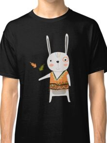 Cartoon Animals Tribal Bunny Rabbit Classic T-Shirt
