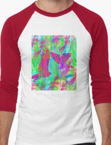 Birds in Flight 2 Men's Baseball ¾ T-Shirt