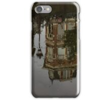 Amsterdam - Moody Canal Reflections in the Rain iPhone Case/Skin