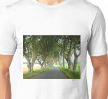 The Dark Hedges, Northern Ireland Unisex T-Shirt