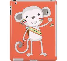 Cute Cartoon Animals Tribal Monkey iPad Case/Skin