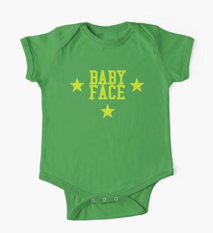 Baby Face One Piece - Short Sleeve