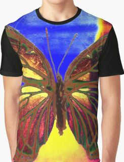 Angel Butterfly Graphic T-Shirt
