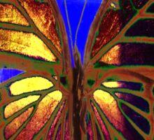 Angel Butterfly Sticker