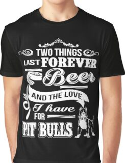 pitbull and beer Graphic T-Shirt