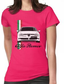 Alfa Romeo 156 GTA (white) Womens Fitted T-Shirt