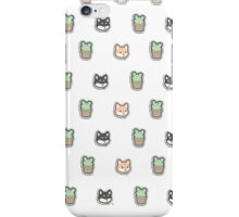 Shibes and Cacti iPhone Case/Skin