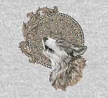 Mandala wolf Unisex T-Shirt