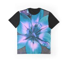 Photoshop Lily blue Graphic T-Shirt
