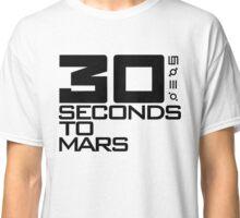 30 seconds to mars black Classic T-Shirt