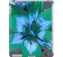 Photoshop Lily green iPad Case/Skin