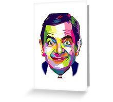 Mr. Bean | PolygonART Greeting Card