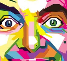 Mr. Bean | PolygonART Sticker