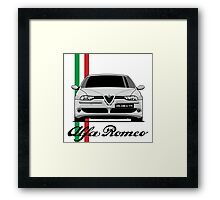 Alfa Romeo 156 GTA (gray) Framed Print