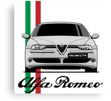 Alfa Romeo 156 GTA (gray) Canvas Print