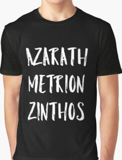 Azarath Metrion Zinthos Graphic T-Shirt
