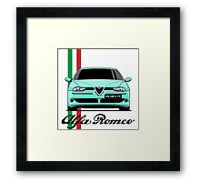 Alfa Romeo 156 GTA (mint) Framed Print