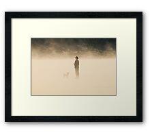 Le Conquet - Milou à la plage Framed Print