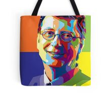 Bill Gates | PolygonART Tote Bag