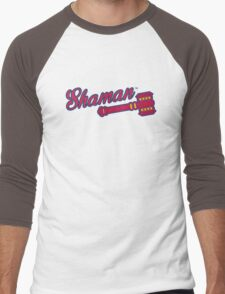 Shaman (alternate) - WoW Baseball Men's Baseball ¾ T-Shirt