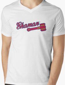 Shaman (alternate) - WoW Baseball Mens V-Neck T-Shirt