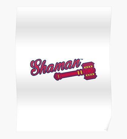 Shaman (alternate) - WoW Baseball Poster