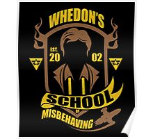 School of Misbehaving Poster