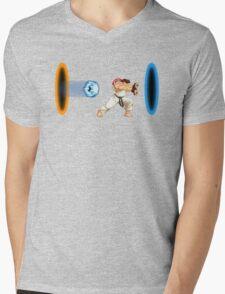 Street & Space Mens V-Neck T-Shirt