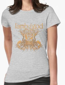 LAMB OF GOD TDM Womens Fitted T-Shirt
