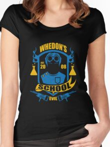 School of Evil Women's Fitted Scoop T-Shirt