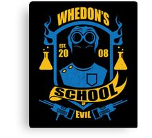 School of Evil Canvas Print