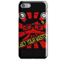 Obey Your Master iPhone Case/Skin