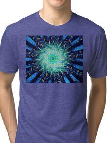 Sea Floral Tri-blend T-Shirt