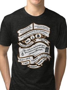 TVD Quotes. The Vampire Diaries. Tri-blend T-Shirt