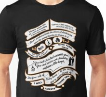 TVD Quotes. The Vampire Diaries. Unisex T-Shirt